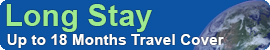 Long stay Responsible travel insurance by Voyager - for backpacker, GAP year and sabbatical